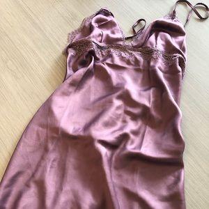 Victoria Secret Satin and Lace Slip
